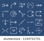 set of 20 icons such as right...