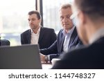 image of business partners... | Shutterstock . vector #1144748327
