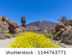 The Teide Volcano In Tenerife....