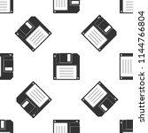 floppy disk for computer data... | Shutterstock .eps vector #1144766804