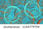 a bright pattern of chaotic... | Shutterstock .eps vector #1144779794