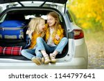two adorable girls with a...   Shutterstock . vector #1144797641