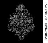 vintage baroque frame scroll...   Shutterstock .eps vector #1144836497