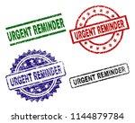 urgent reminder seal prints... | Shutterstock .eps vector #1144879784