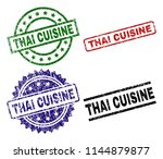 thai cuisine seal prints with...   Shutterstock .eps vector #1144879877