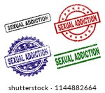 sexual addiction seal imprints... | Shutterstock .eps vector #1144882664