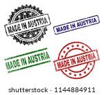 made in austria seal prints... | Shutterstock .eps vector #1144884911