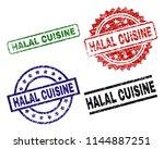 halal cuisine seal prints with...   Shutterstock .eps vector #1144887251