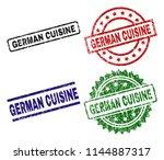 german cuisine seal prints with ...   Shutterstock .eps vector #1144887317