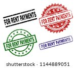 for rent payments seal prints... | Shutterstock .eps vector #1144889051
