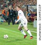 Постер, плакат: Rooney in UEFA Champions