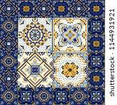 talavera pattern.  indian...   Shutterstock .eps vector #1144931921