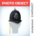 photo booth props. birthday and ... | Shutterstock .eps vector #1144934327