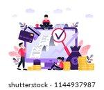 ultra violet vector... | Shutterstock .eps vector #1144937987