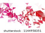 light blue  green vector low... | Shutterstock .eps vector #1144958351