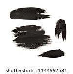 abstract hand painted... | Shutterstock . vector #1144992581