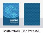 a4 business finance concept... | Shutterstock .eps vector #1144995551