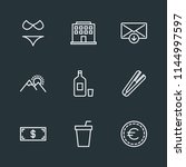 modern flat simple vector icon... | Shutterstock .eps vector #1144997597