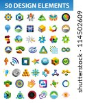set of bright signs and symbols ... | Shutterstock .eps vector #114502609