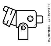 colposcopy icon vector | Shutterstock .eps vector #1145044544