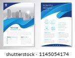 template vector design for... | Shutterstock .eps vector #1145054174