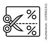 coupon vector icon   Shutterstock .eps vector #1145061311