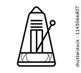 metronome creative icon | Shutterstock .eps vector #1145066807