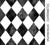 Black And White Argyle Seamless ...