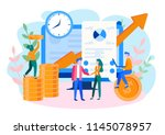 concept financial investments ... | Shutterstock .eps vector #1145078957