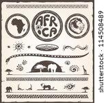 Africa Design Elements...