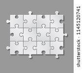 vector illustration of white... | Shutterstock .eps vector #1145120741