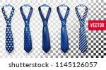 realistic vector silk satin... | Shutterstock .eps vector #1145126057