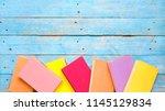 books  reading  learning ... | Shutterstock . vector #1145129834