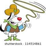 cartoon illustration of a... | Shutterstock . vector #114514861