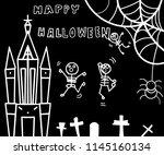 Hand Drawing Dancing Skeletons...
