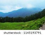 beautiful valley of jibhi... | Shutterstock . vector #1145193791