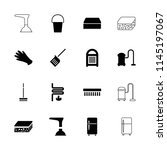 household icon. collection of... | Shutterstock .eps vector #1145197067