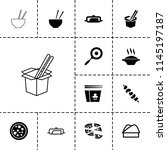 cuisine icon. collection of 13...   Shutterstock .eps vector #1145197187