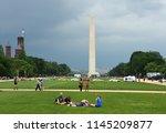 washington  dc   may 31  2018 ... | Shutterstock . vector #1145209877