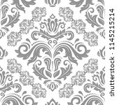 orient vector classic pattern...   Shutterstock .eps vector #1145215214