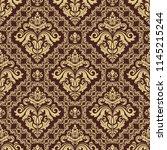 classic seamless vector pattern....   Shutterstock .eps vector #1145215244