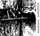 abstract monochrome grunge... | Shutterstock .eps vector #1145220314