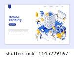 Online Banking Modern Flat...