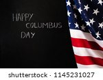 "chalkboard with flag usa  text ""... 