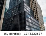 modern architecture cityscape... | Shutterstock . vector #1145233637