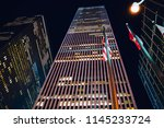 high rise corporate building... | Shutterstock . vector #1145233724