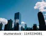 futuristic cityscape of... | Shutterstock . vector #1145234081