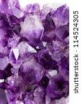 Purple Amethyst Background