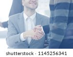 close up image of business... | Shutterstock . vector #1145256341