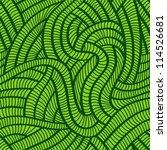 tangled green seamless pattern. | Shutterstock .eps vector #114526681